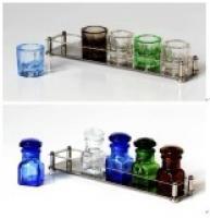 Подставка для стеклянных стаканов G753S на 33мм 5 шт