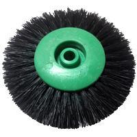 Щетка щетин. шлиф. 4-ряд пласт. прямая ВК-9025 4С, 78мм (зел.)