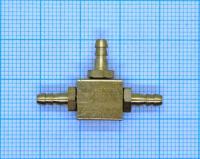 Коннектор латунный  (3х3х3)